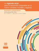 La Agenda 2030 para el Desarrollo Sostenible en el nuevo contexto mundial y regional PDF