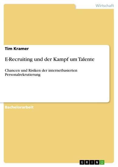 E Recruiting und der Kampf um Talente PDF