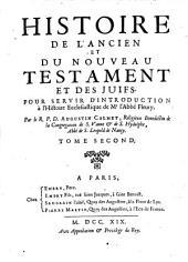 Histoire de l'Ancien et du Nouveau testament et des Juifs: Volume1