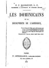 Les dominicains et la découverte de l'Amérique