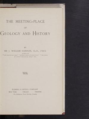 The Meeting Place of Geology and History