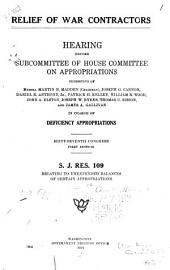 Second Deficiency Appropriation Bill, 1921: Hearing Before Subcommittee of House Committee on Appropriations ... in Charge of the Second Deficiency Appropriation Bill for 1921. Sixty-seventh Congress, First Session
