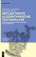 Reflektierte algorithmische Textanalyse PDF