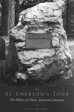 At Emerson's Tomb
