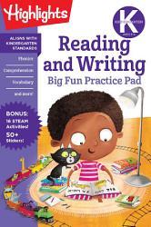 Kindergarten Reading and Writing Big Fun Practice Pad PDF
