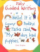 Daily Guided Writing PDF