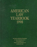 American Law Yearbook 1998 PDF