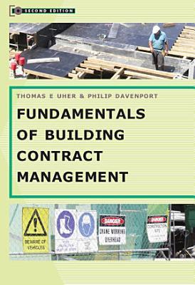 Fundamentals of Building Contract Management PDF