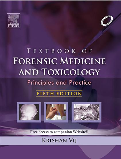 Textbook of Forensic Medicine and Toxicology   Principles and Practice  5 e PDF