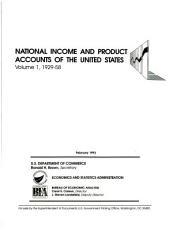National Income and Product Accounts of the United States PDF