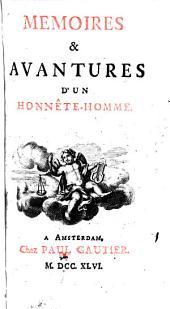 Memoires & avantures d'un honnête-homme