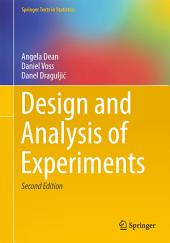 Design and Analysis of Experiments: Edition 2