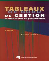 Tableaux de Bord de Gestion et Indicateurs de Performance