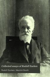 Collected essays of Rudolf Eucken