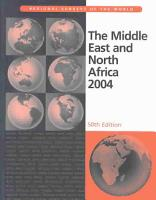 The Middle East and North Africa 2004 PDF