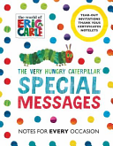 Very Hungry Caterpillar  Special Messages Notes for Every Oc PDF