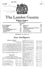 The London Gazette PDF