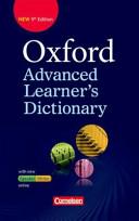 Oxford Advanced Learner s Dictionary B2 C2  W  rterbuch  Festeinband  Mit Online Zugangscode PDF