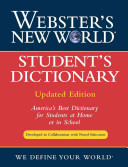 Websters Student Dictionary