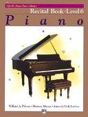 Piano Recital Book Level 6