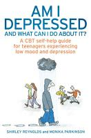 Am I Depressed And What Can I Do About It  PDF