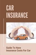 Car Insurance PDF