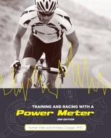 Training and Racing with a Power Meter  2nd Ed  PDF