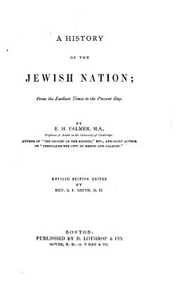 A History of the Jewish Nation PDF