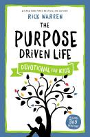 The Purpose Driven Life Devotional for Kids PDF