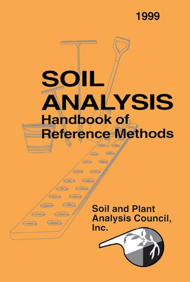 Soil Analysis Handbook of Reference Methods PDF