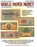 Standard Catalog of World Paper Money  General Issues to 1960 PDF
