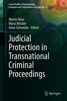 Judicial Protection in Transnational Criminal Proceedings PDF