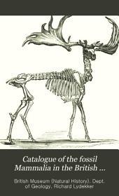 Catalogue of the Fossil Mammalia in the British Museum, (Natural History): The order Ungulata, suborder Artiodactyla. 1885