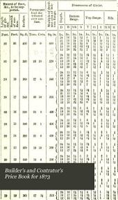 Builder's and Contrator's Price Book for 1873