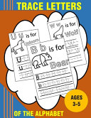 Trace Letters Of The Alphabet Book PDF