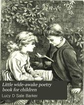 Little wide-awake poetry book for children