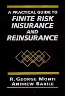 A Practical Guide to Finite Risk Insurance and Reinsurance PDF