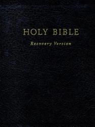 Holy Bible Recovery Version Book PDF