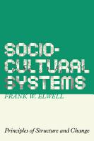 Sociocultural Systems PDF