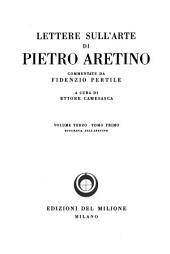 Lettere sull'arte, commentate da Fidenzio Pertile e riv. da Carlo Cordié