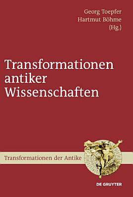 Transformationen antiker Wissenschaften PDF