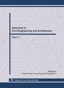 Advances in Civil Engineering and Architecture PDF