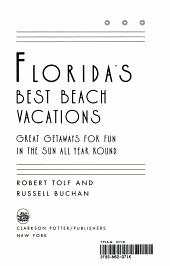Florida s Best Beach Vacations PDF