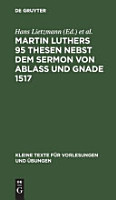 Martin Luthers 95 Thesen  PDF