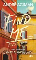Find Me  Finde mich PDF