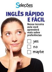 Inglês Rápido e Fácil 3: Nessa terceira aula você aprenderá mais sobre preferências.