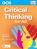 OCR as Critical Thinking  by Roy Van Den Brink Budgen and Jacquie Thwaites PDF