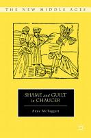 Shame and Guilt in Chaucer PDF