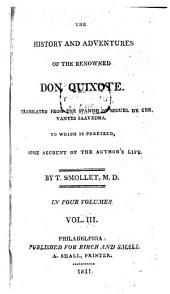 The History and Adventures of the Renowned Don Quixote: Volume 3