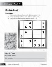 Grade 3 Hard Sudoku Puzzles 41–45